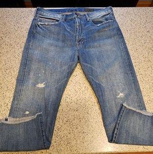 Vince SZ 31 selvedge distressed Jeans